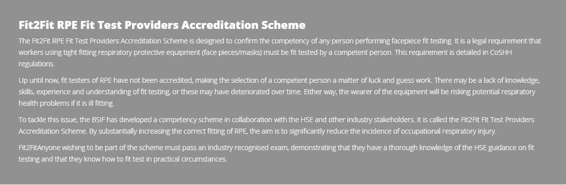 Fit2Fit scheme objectives